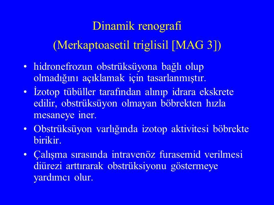 Dinamik renografi (Merkaptoasetil triglisil [MAG 3])